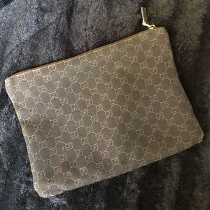 Gucci travel bag, great for mark up or toiletries